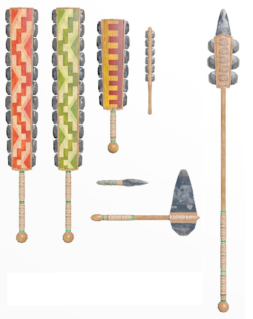 Aztec Weapons   Chris Morton   Flickr