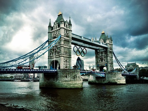 Tower Bridge with Olympic Logo | by Siddie Nam