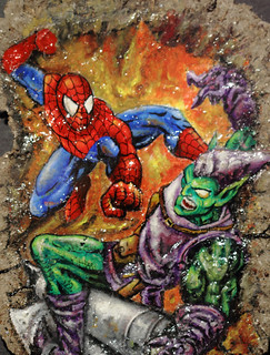 Spidey vs Green Goblin | by eugenehor