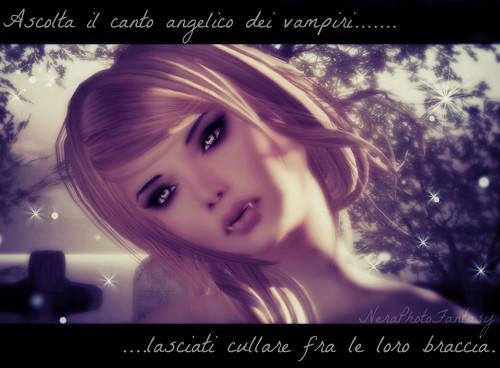 Il richiamo di un vampiro ascolta il canto angelico dei for Ti richiamo