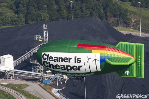 Dirty Coal at Cliffside | by Greenpeace USA 2015