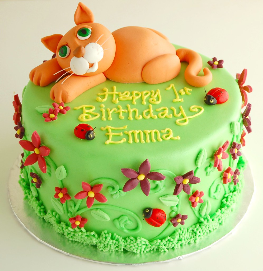 Emmas Kitty Cat Birthday Cake Charmchang Flickr