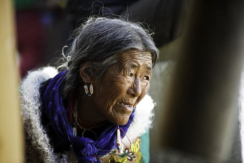 -Old woman2 Ladakh.Jammu kashmir.India | by courregesg