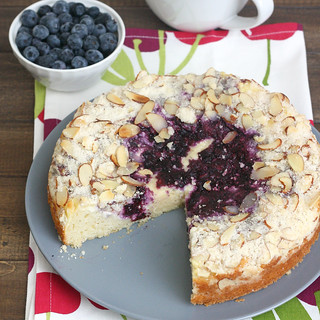 Blueberry-Cream Cheese Coffee Cake | by Tracey's Culinary Adventures