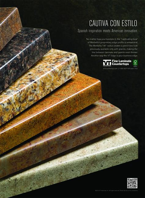 Vt Industries Fine Laminate Countertops Fan Ad Vt Industries