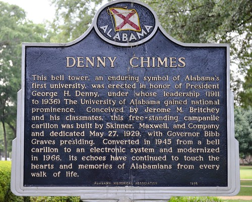 Denny Chimes Historical Marker | by mrbama97