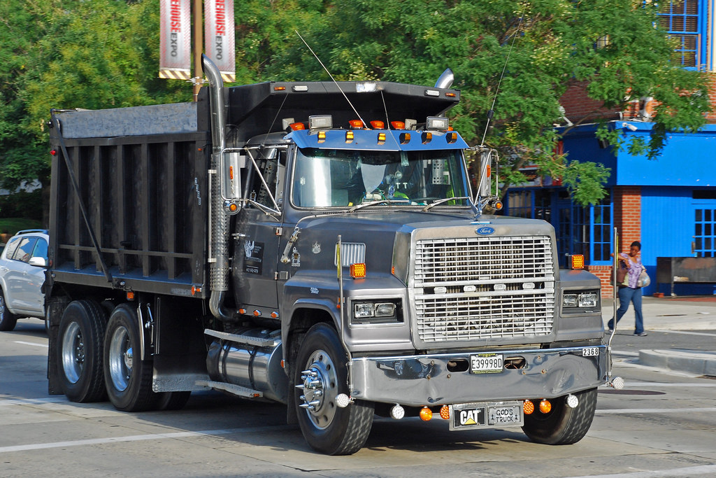 Ford | Ford LTL9000 dump truck in Baltimore, Maryland ...