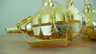 Grenade Gold Side | by PureGoldPlating