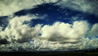 sky of Yaizu #AutoStitch #CAMERAtan (Vint.Yellow C) | by AF-W*