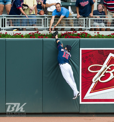 Minnesota Twins Josh Willingham (16) on August 15, 2012 | by Ben C. K.