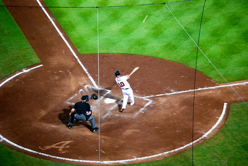 Chipper's 2700th hit | by Valerie Reneé