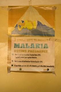 Malaria medication instructions for expecting mothers | by World Bank Photo Collection