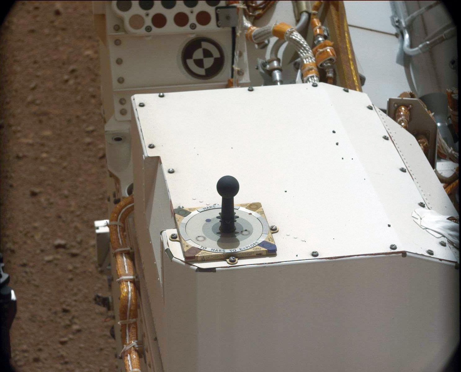 Curiosity sol 13 Sundial