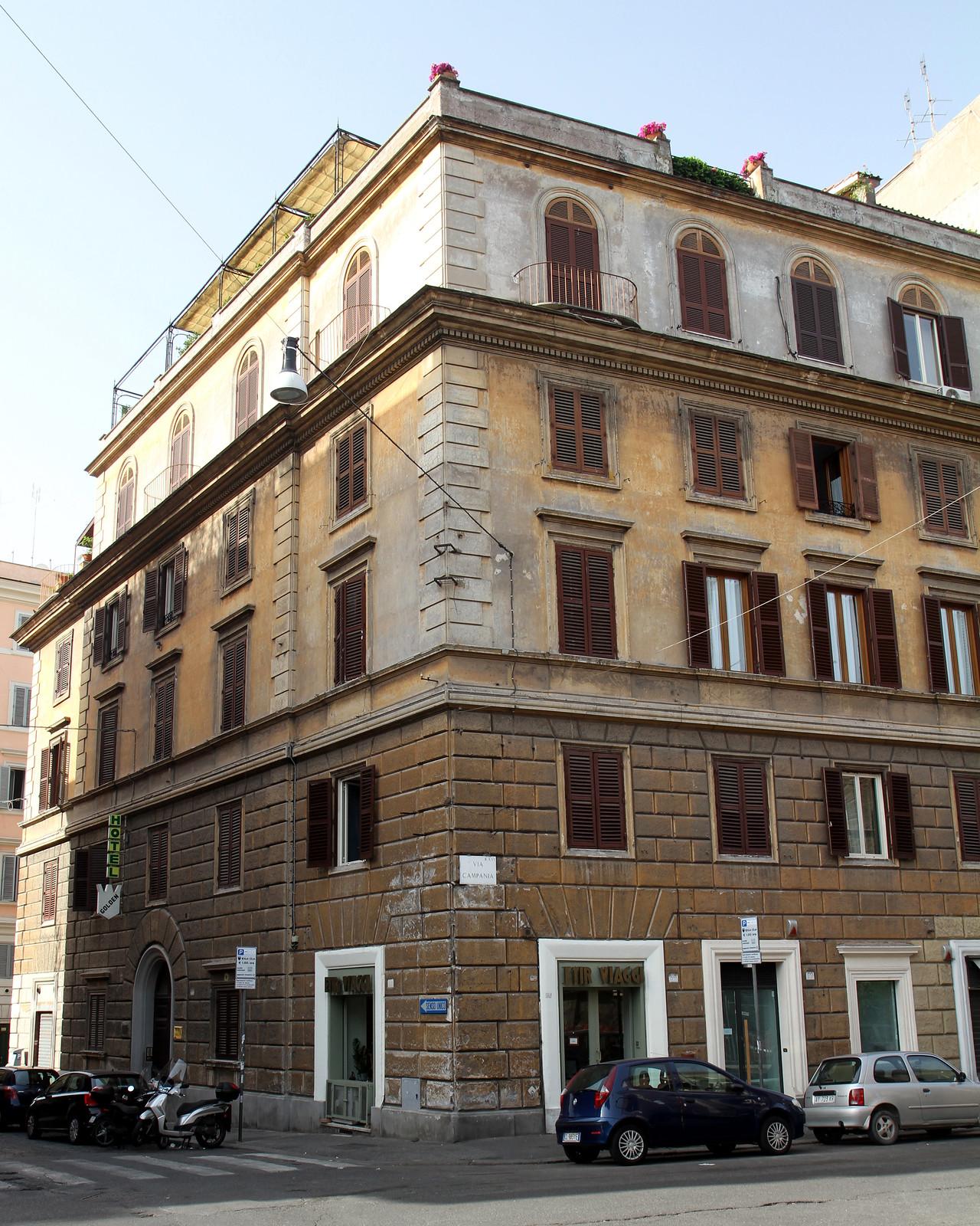 Hotel golden rome
