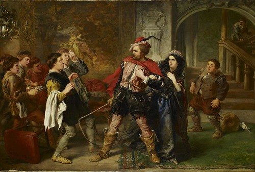 The Taming of the Shrew by John Gilbert 1859-1861 | by Birmingham Museum and Art Gallery