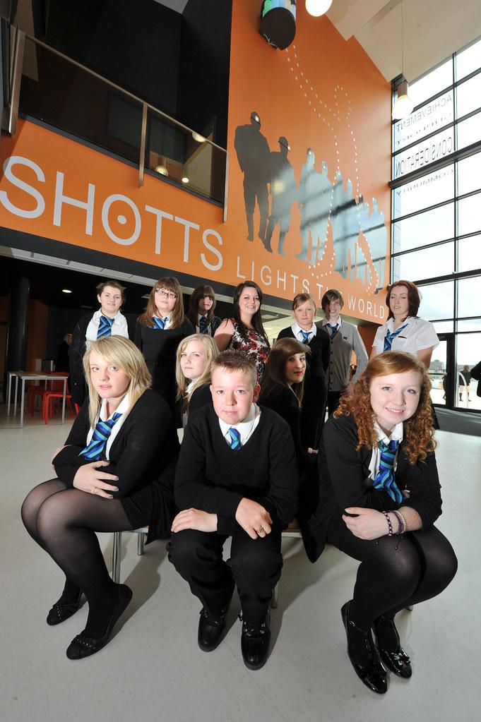 opening of new calderhead high school shotts