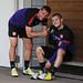 Lukas Podolski and Jack Wilshere