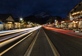 Banff Ave at Dusk | by Darryl Renyk Photography