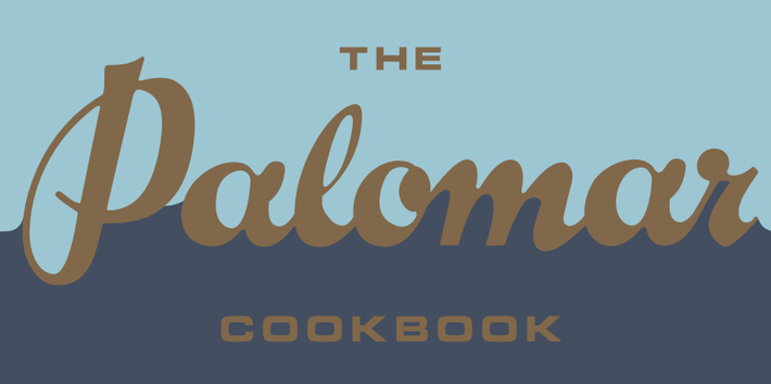 Georgina Ingham | Culinary Travels Photograph - The Palomar Cookbook