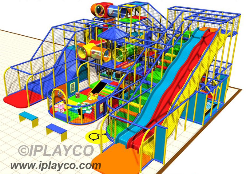 IPC1302 IPLAYCO Large Indoor Play Structure | Indoor Playgro… | Flickr