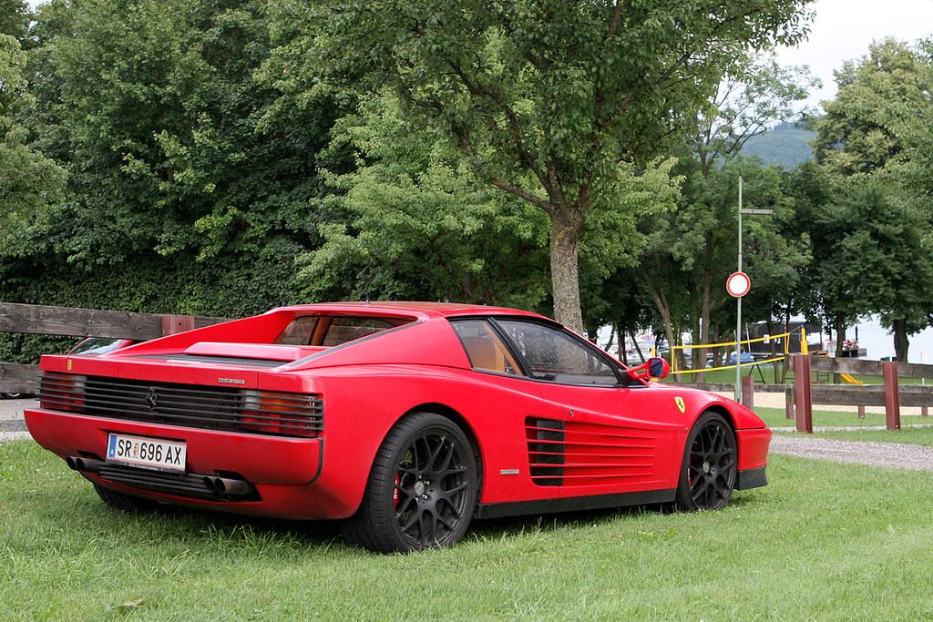 Hre Ferrari Testarossa With Beautifull Hre Performance