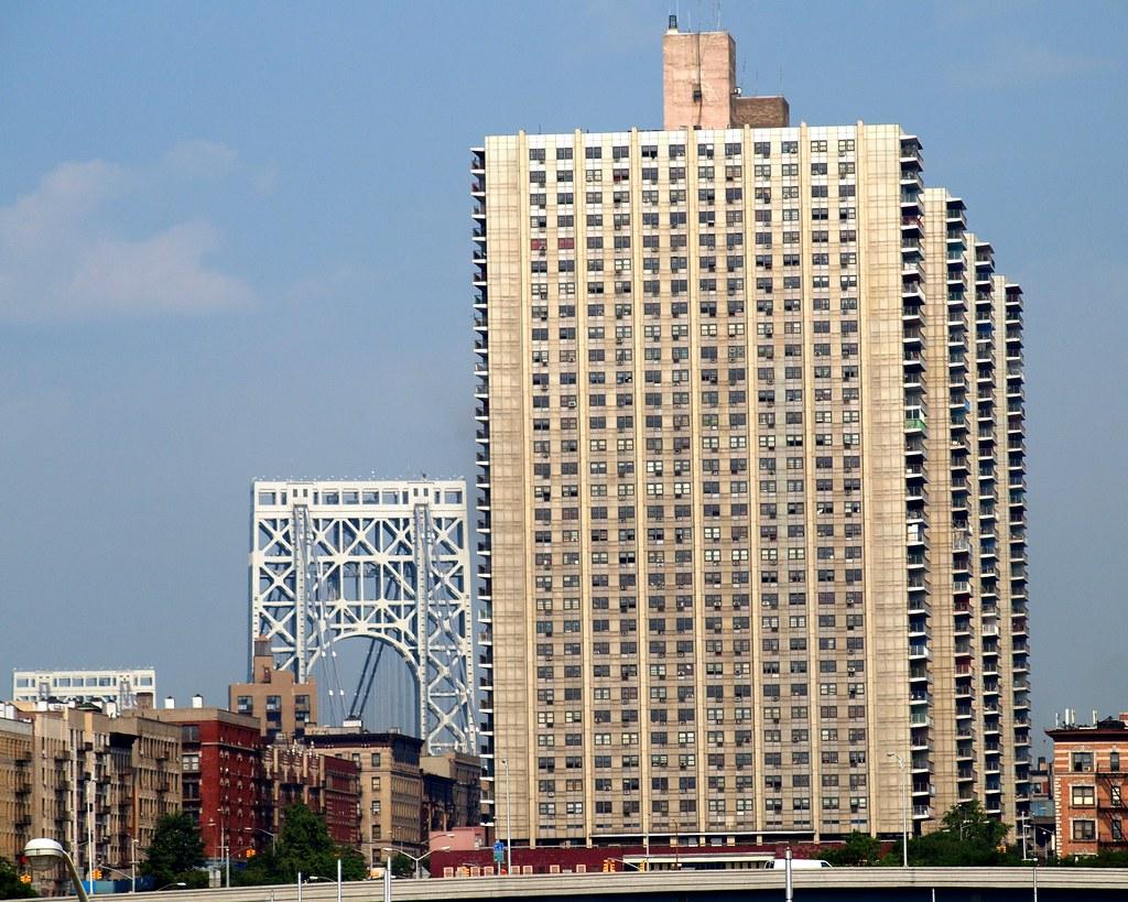 Bridge Apartment Towers With The George Washington Bridge Math Wallpaper Golden Find Free HD for Desktop [pastnedes.tk]
