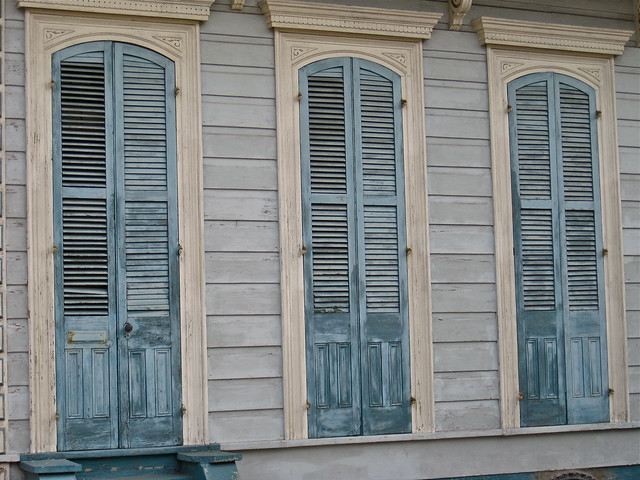 More Blue Shutters New Orleans La Blue Shutters On A Hou Flickr Photo Sharing