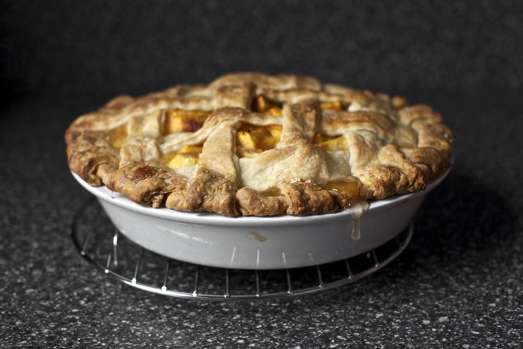 peach pie, and a drip | Peach Pie on smittenkitchen.com | Flickr