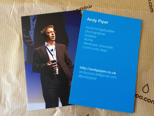 Business card | by andyp uk