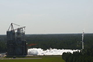 A Summer of Records for Engine Testing (NASA, J-2X, SLS, 07/24/12) | by NASA's Marshall Space Flight Center