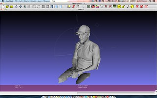 Using a Kinect as a 3D scanner | by John Biehler