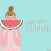 happy summer! watermelon