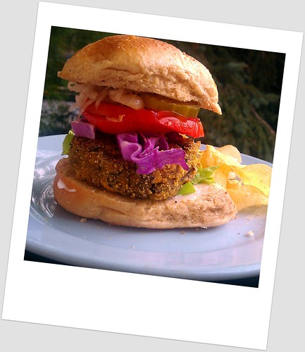 Eggplant Burger | by Suburban Hippie...she's one resourceful cookie!