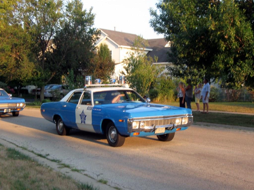 Dodge Polara Police Car For Sale