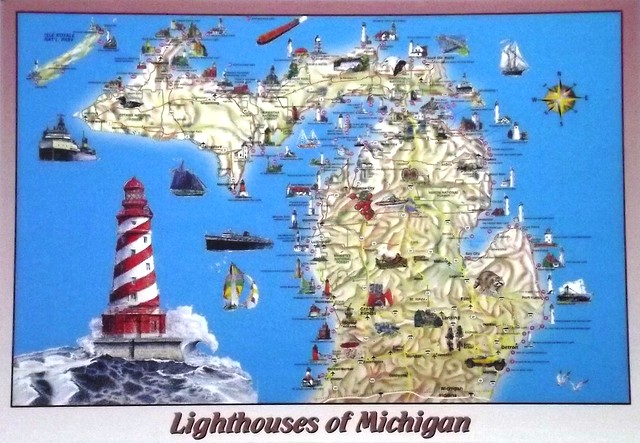 MI Lighthouses Of Michigan  Flickr  Photo Sharing