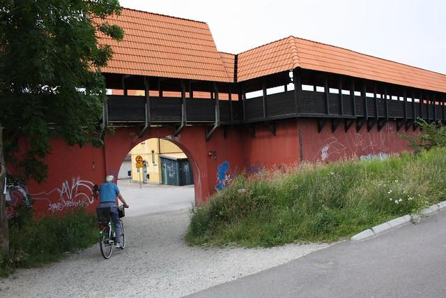 Bailey (ringmur), Jakriborg, Hjärup, Sweden