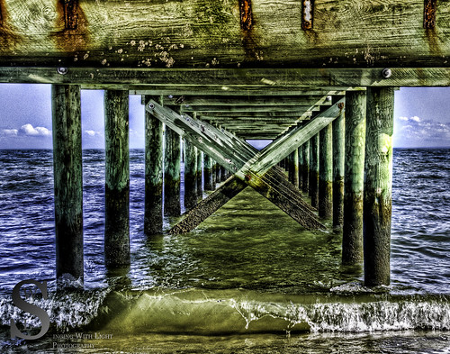 MIlford Walnut Beach Under the Pier - | by Singing With Light
