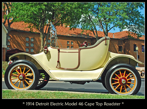 1914 Detroit Electric Roadster | by sjb4photos
