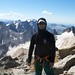 Andrew at the top of Gannett Peak, Wyoming