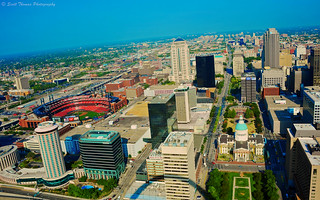 View from the Gateway Arch | by Scottwdw