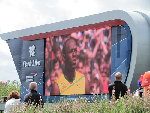 Bolt on the big screen! | by lisaluvz