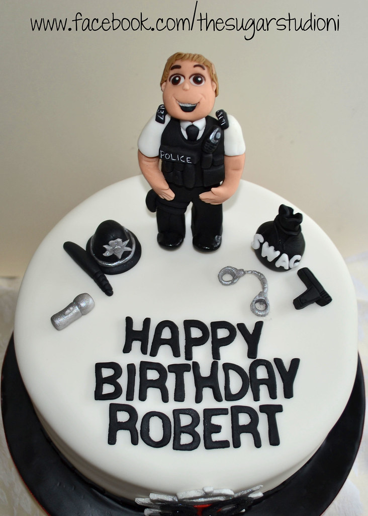 Handmade edible Police man / Police Officer Police woman c ...