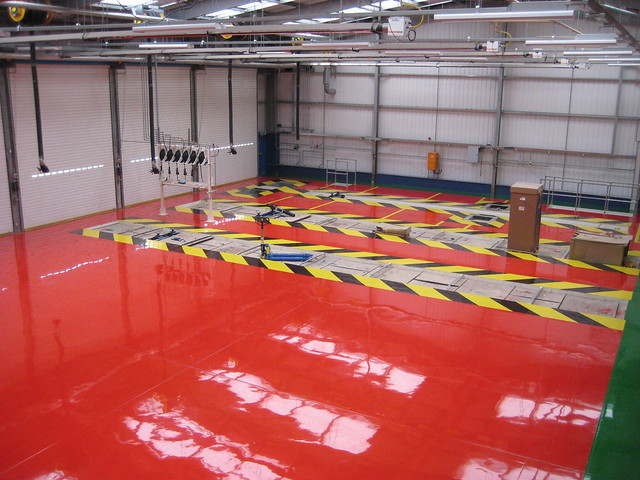 Resin Flooring - FeRFA Type 3 - High Build Floor Coating