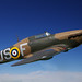 Hawker Hurricane Mark I - 'flying' thanks to Photoshop