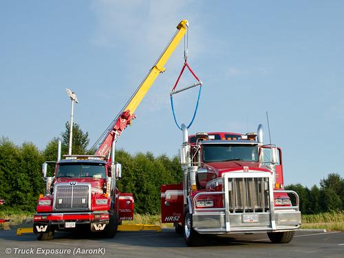 Jamie davis motor truck western star 4900sb kenworth t80 for Jamie davis motor truck