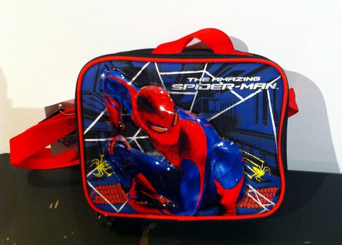 The Amazing Spiderman Lunchbox: Contains Phthalates 27x Limit Set by Federal Ban | by CHEJ