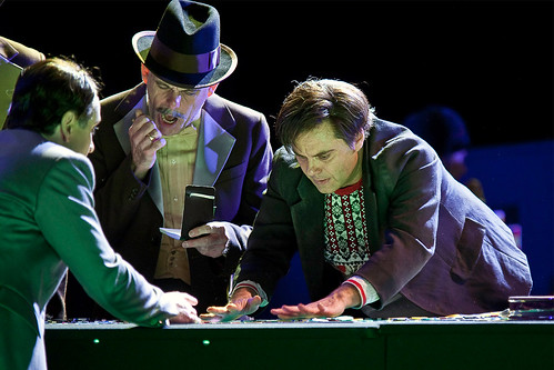 Roberto Saccà as Alexey Ivanovitch and Michael Lessiter as a Gambler in The Gambler ©Clive Barda/ROH 2010 | by Royal Opera House Covent Garden