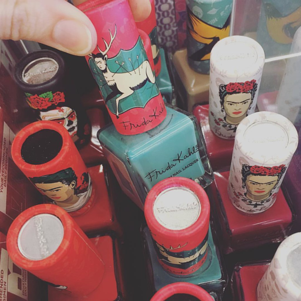Frida Kahlo nail polish exists & no one told me?! #artymak… | Flickr