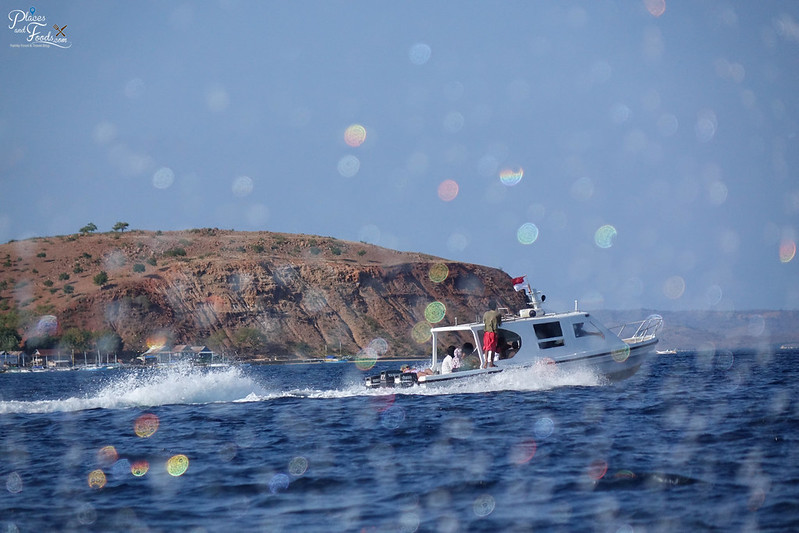 sailing to loh liang island