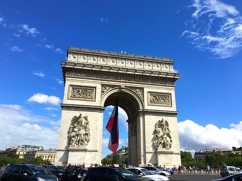 Arc de Triomphe. Paris, France